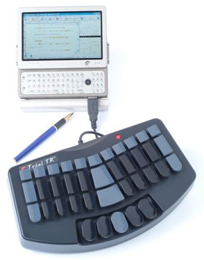 stenograph machine keyboard