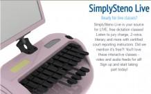 SimplySteno Live