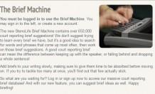 steno brief machine