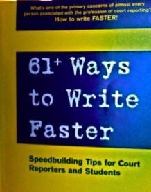 61 Ways to Write Faster