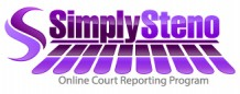 SimplySteno Court Reporting Program