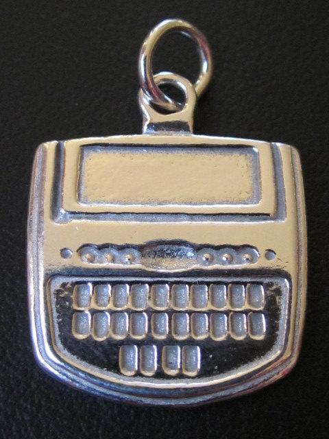 sterling silver steno charm