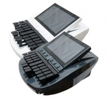 passport touch steno machine