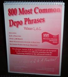 depo phrases