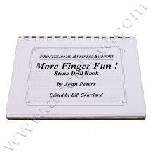 finger fun steno drills